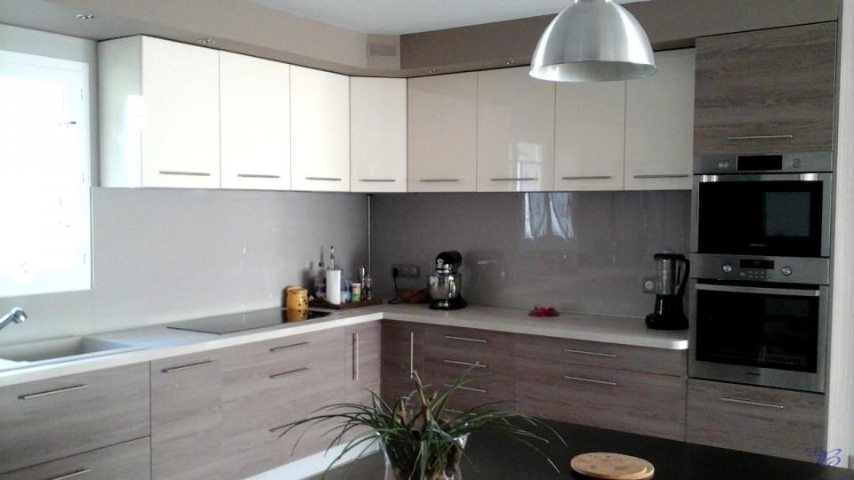 Cuisines et salles de bain sarl baspeyras menuiserie for Armoire de cuisine 2 tons