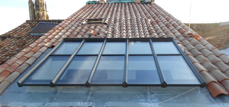 Menuiseries aluminium sarl baspeyras menuiserie - Verriere double vitrage ...